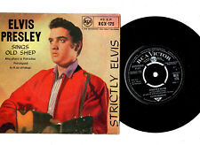 "ELVIS PRESLEY.STRICTLY ELVIS.UK ORIG ""R/C"" EP & ""FRONT/LAM"" PIC/SL.VG/EX"