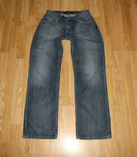 Vintage Blue Denim LEVI'S Zip Straight Leg Faded Cowboy Jeans Size W 29 L 30