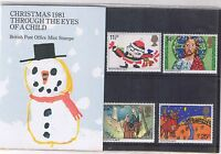 GB Presentation Pack 130 1981 Christmas 10% OFF 5