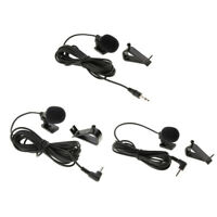 3.5mm/2.5mm Car Stereo External Microphone for Car Bluetooth Stereo GPS DVD
