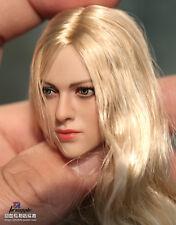 1/6 European American Female Head sculpt Kimi Toys KT004 Hot Toys Phicen