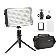 Aputure Amaran AL-H198C Camera LED Video Light Lamp +Portable Desktop Tripod Bag