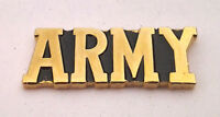ARMY Military Veteran Script US ARMY Hat Pin P14768 EE