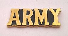 ARMY Military Veteran Script US ARMY Hat Pin P14768 EE
