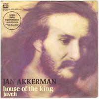 "JAN AKKERMAN House of the King/Javeh 7"" Single – Focus guitarist, Italian Press"