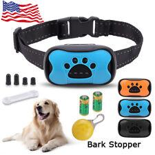 New listing Us Small Medium Large Dog Anti Bark Collar Puppy Stop Barking Sound & Vibration