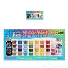 34 Color Paint Value Set For Ceramics Canvas Glass Wood Americana Gloss Enamel