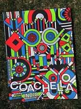 2017 Coachella Weekend 2 Poster Signed A/P Artist Proof Copy Rare!!!!