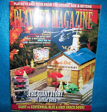 Playset Magazine #73-Giant Toy Co, Marx Civil War + shady Rest Motel playsets