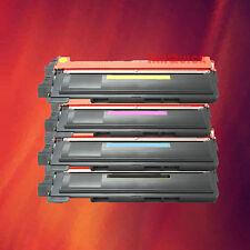 4 Color Toner Set for Brother TN-210 HL-3040CN HL-3070CW