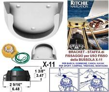 RITCHIE X-11HW SUPPORTO BRACKET UTILIZZO FISSO PER BUSSOLA X-11 su BARCA e CANOA
