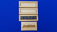 Laser cut MDF Set of 3 Warhammer Movement Tray (5x1) 20mm Infantry Bases 40k
