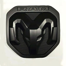 1x OEM Ram Rear Tailgate Emblem Badge Decal Ram 1500 2500 3500 Black fit 2019 A