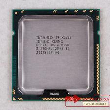 Intel Xeon X5687 CPU (AT80614005919AB) LGA 1366 SLBVY 3.6/12M/3200 Free ship