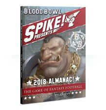 Blood Bowl: Spike Presents The *2018* Almanac (Hardback) GW BRAND NEW
