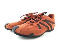 Geox Respira Damen Sneaker Freizeitschuhe Schnürschuhe Comfort Orange Gr. 38