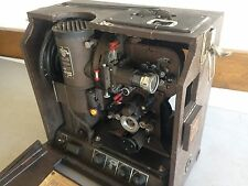 Vtg Victor Animatograph 16mm PROJECTOR Cine reel film movie antique speaker case