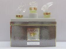 Lalique Pour Homme Flacons Collection Perfume 3 Pieces Set 5 ml Eau de Parfum
