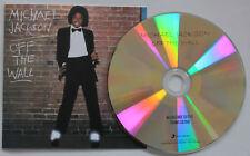 Michael Jackson Off The Wall promo CD