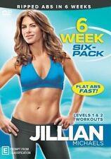 Jillian Michaels 6 Week 6-pack DVD Levels 1 and 2