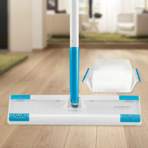 Floor Wipe Flat Mop for Wood Tile Laminate Floor with disposable nonwoven wipes