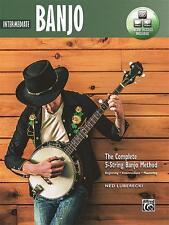 Intermediate Banjo - The Complete 5-String Banjo Method by Ned Luberecki