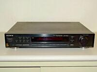 Sony ST-S570ES High-End Stereo FM/AM Vintage Tuner Schwarz, 2 Jahre Garantie