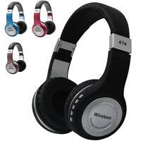 Wireless Bluetooth Headphones Headset Earphones Bass with Mic For iPhone Samsung