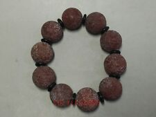 Collection Ancient China Tibet Red Agate Sculpture Bracelet Decorations Amulet