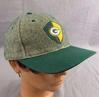 Green Bay Packers Vtg Hat Adjustable Baseball Cap Sports Specialties Shield Logo