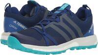 adidas Outdoor Terrex Agravic GTX Mystery Ink Grey Women's Running Shoes 7.0 US