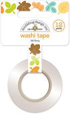 Doodlebug Design Flea Market Collection Washi Tape Fall Flurry 5322   2016