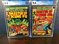 1st Appearance MASTER OF KUNG FU Special Marvel Edition 15 FIRST SOLO 17 cgc lot