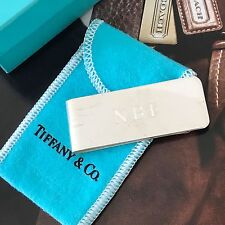 Tiffany & Co. .925 Sterling Silver Money Clip w/ dustbag & Box. 100% Authentic