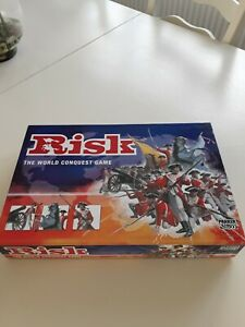 RISK THE WORLD CONQUEST GAME BOARD GAME GOOD CLEAN CONDITION