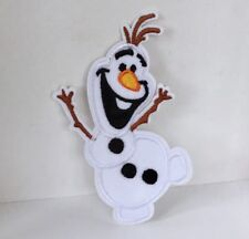 DISNEY FROZEN OLAF SNOWMAN CHARACTER EMBROIDERED APPLIQUÉ PATCH SEW OR IRON #75