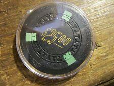 Beautiful Uncirculated Frisco Club $25 Casino Chip Reno Nv