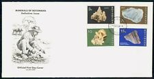 Mayfairstamps Botswana FDC 1974 Minerals Combo Man Panning First Day Cover wwh_3