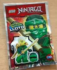 SACHET POLYBAG LEGO MINIFIGURE FIGURINE NINJA NINJAGO NEUF LLOYD LE NINJA VERT