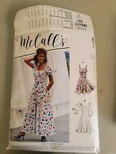 McCALLS SEWING PATTERN R10908 / M8177 MISSES DRESS Sz. 14 CUT