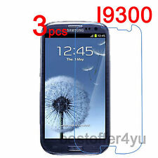 3x Ultra Clear Screen Protector For Samsung Galaxy SIII S3 i9300 Protective Film