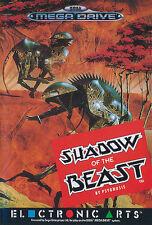 ## Shadow of the Beast 1 - SEGA Mega Drive / MD Spiel - TOP ##