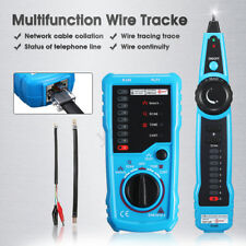 Handheld Wire Line Finder Tester LAN Ethernet Network Cable Tracker Tracer
