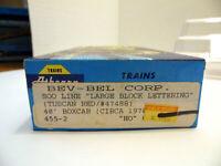 Athearn Blue Box 40' SOO Boxcar - Brown 455-2