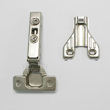 Concealed Kitchen Cabinet Door Hinges Self Closing Full Overlay Soft Close 1Pair