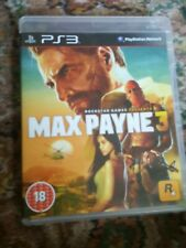 PlayStation 3 : Max Payne 3 for PS3 VideoGames