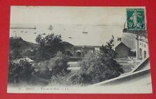 CPA CARTE POSTALE 1910 BRETAGNE BREIZH BREST FINISTERE VUE SUR LA RADE