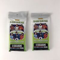 Panini PRIZM 2020-21 Premier League Soccer Value Fat Pack 15 Cards (Lot Of 2)