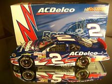 Rare Ron Hornaday Jr #2 AC-Delco 2004 Chevrolet Monte Carlo Club Car RCCA 1/300