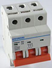 Sicherungsautomat 3 polig B 32A 6kA Leitungsschutzschalter LS-Schalter MCB 00140